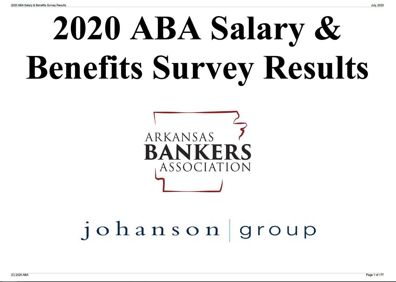 2020 Salary Survey Results
